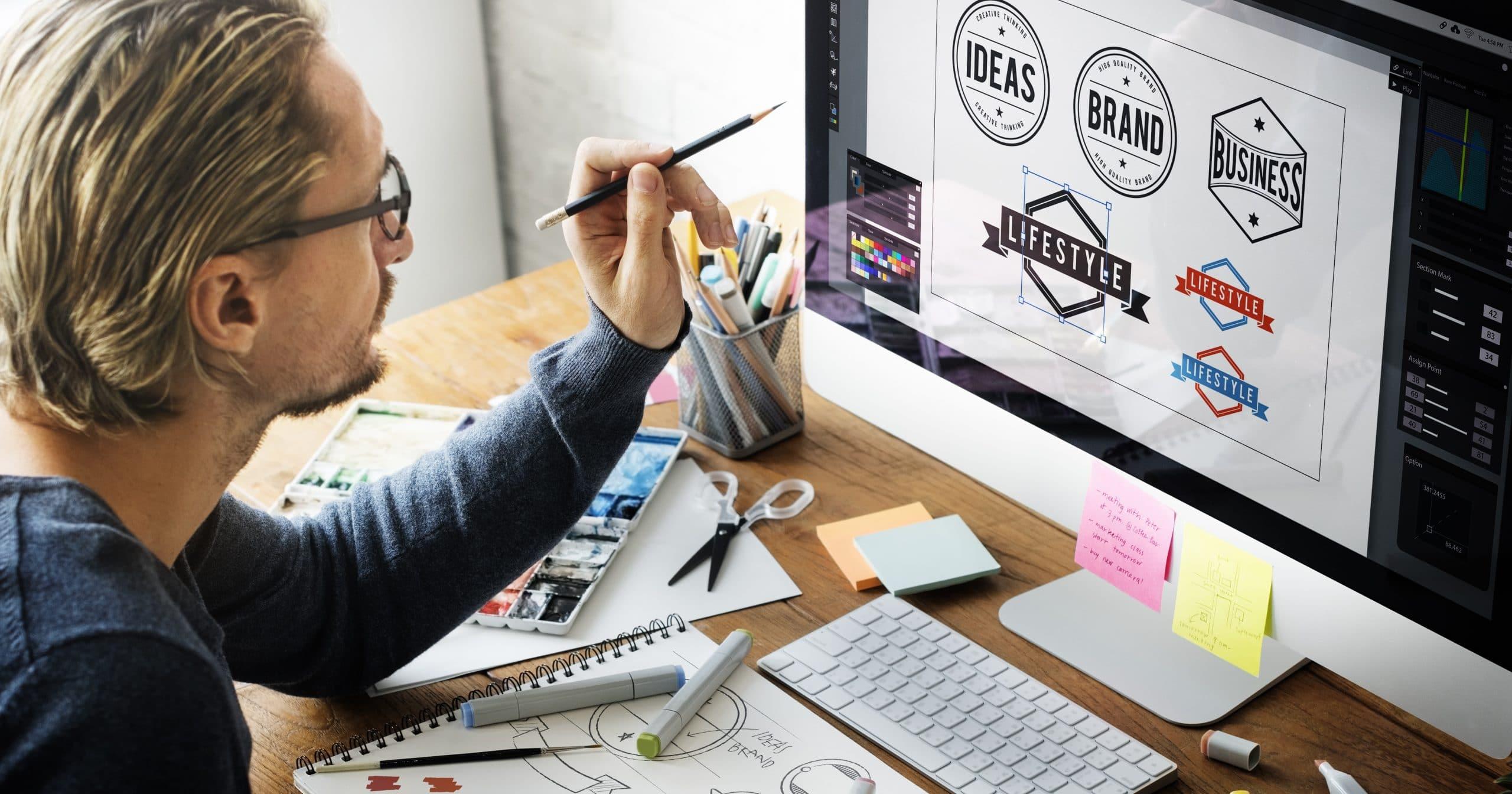 Logga eller logotyp design