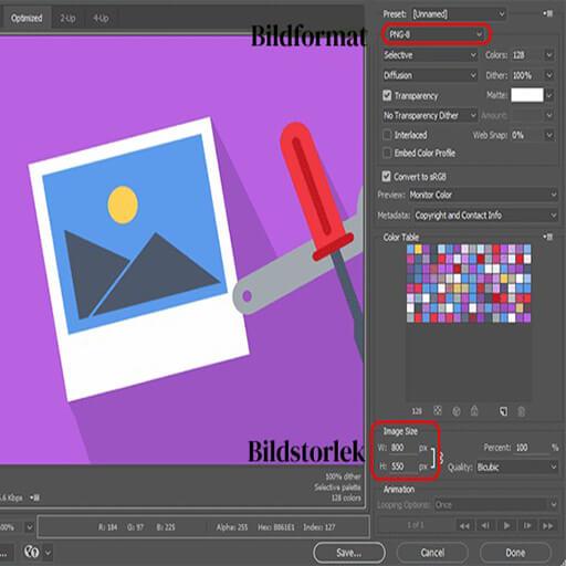 Optimera bilder för webben på en enkel sätt
