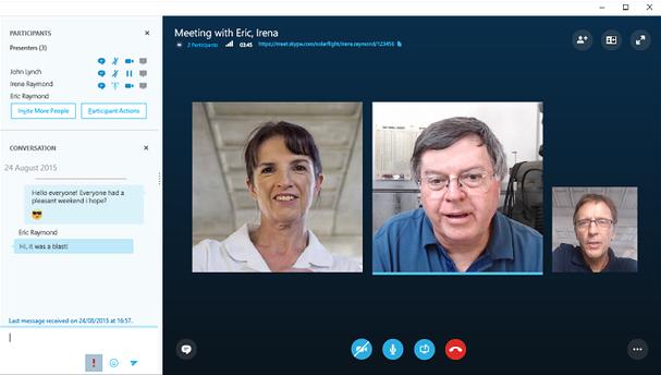 gratis online möte skype